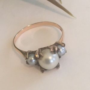 💕💕Antique Pearl Ring